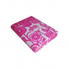 Одеяло взр.байк арт.5772ВЖ разм.212х150 (фиолетовый цветы)