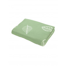 Одеяло взр.байковое арт.5772ВЖК разм.212х150 ПРЕМИУМ (омела листья)